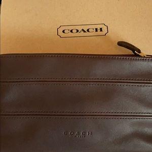 Coach TriBeCa cosmetic case